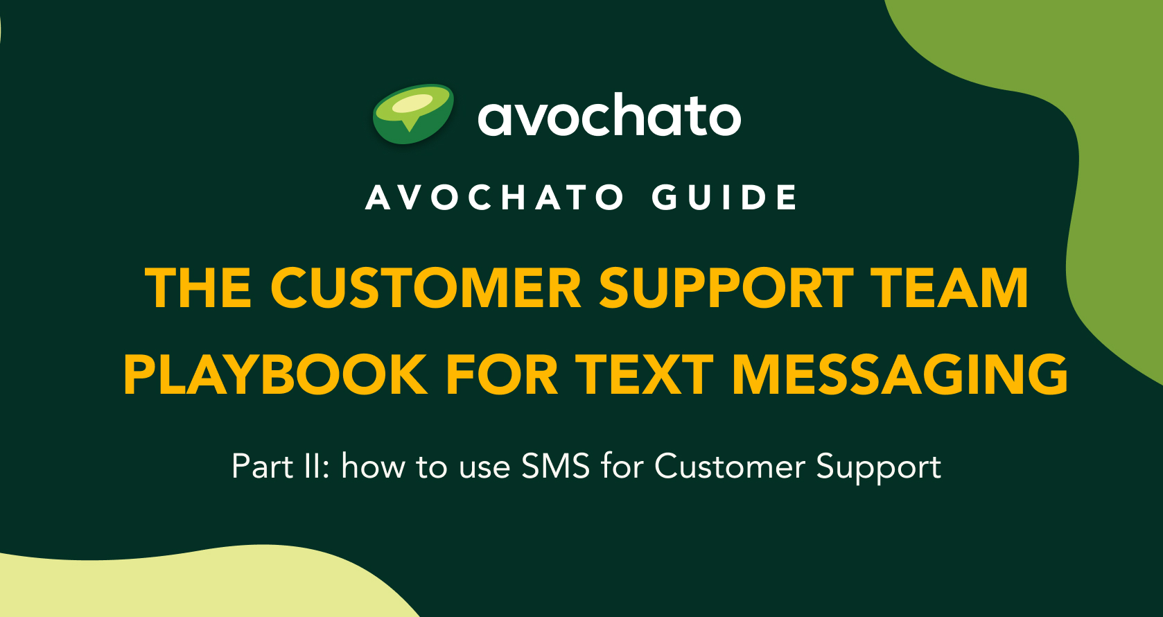 customer support sms