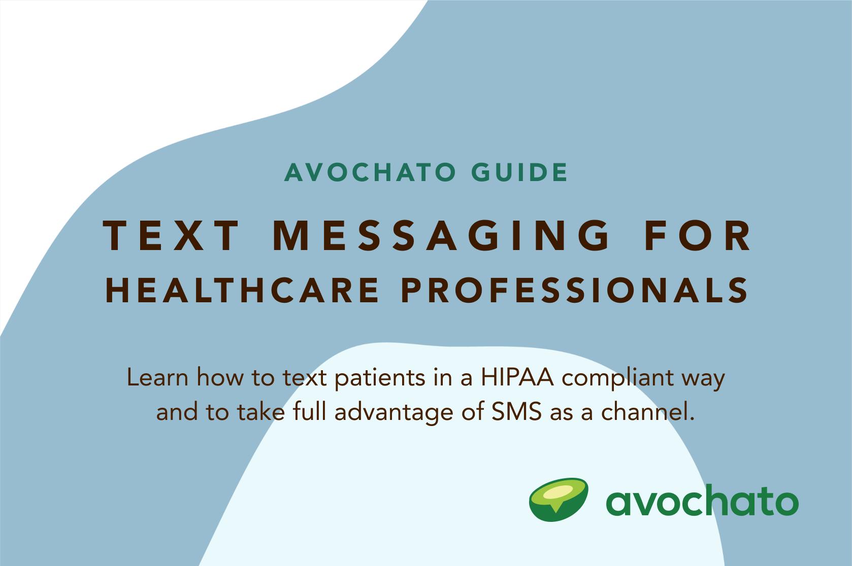 HIPAA compliant sms
