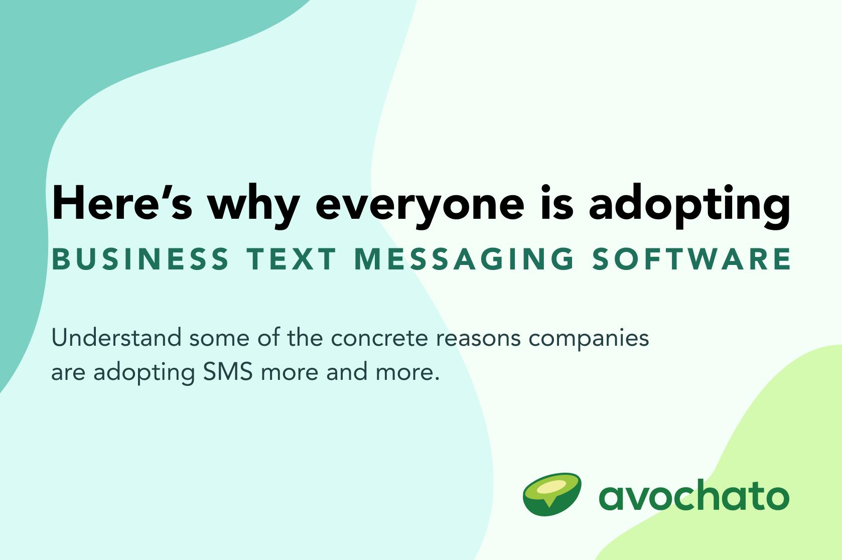 adopting business text messaging