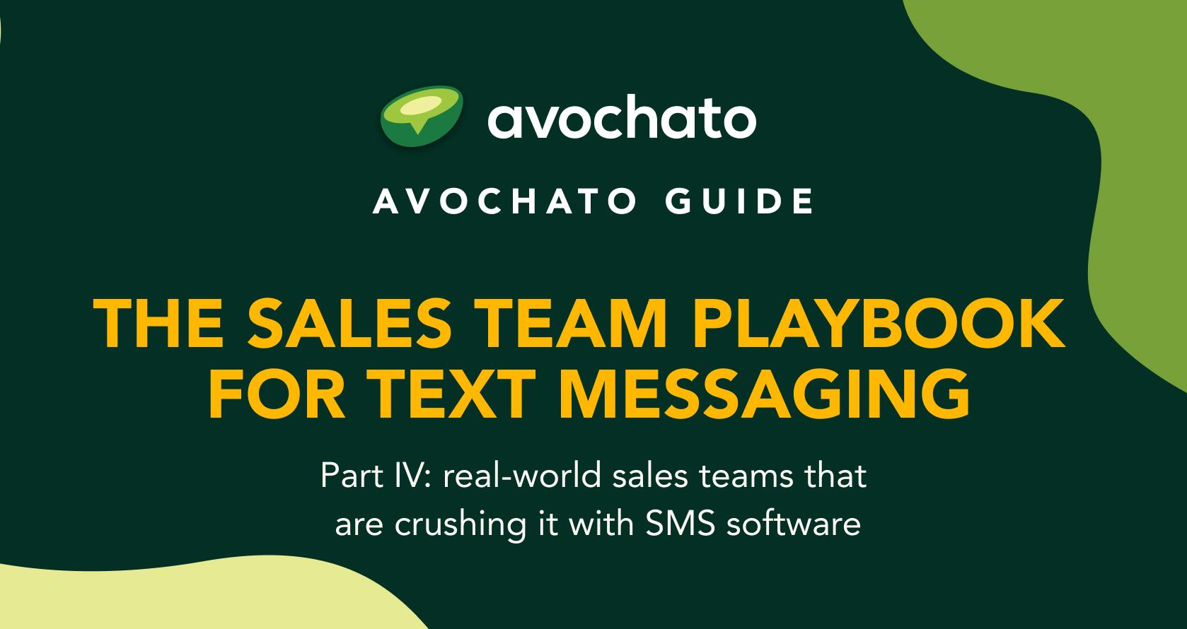 sales sms iv