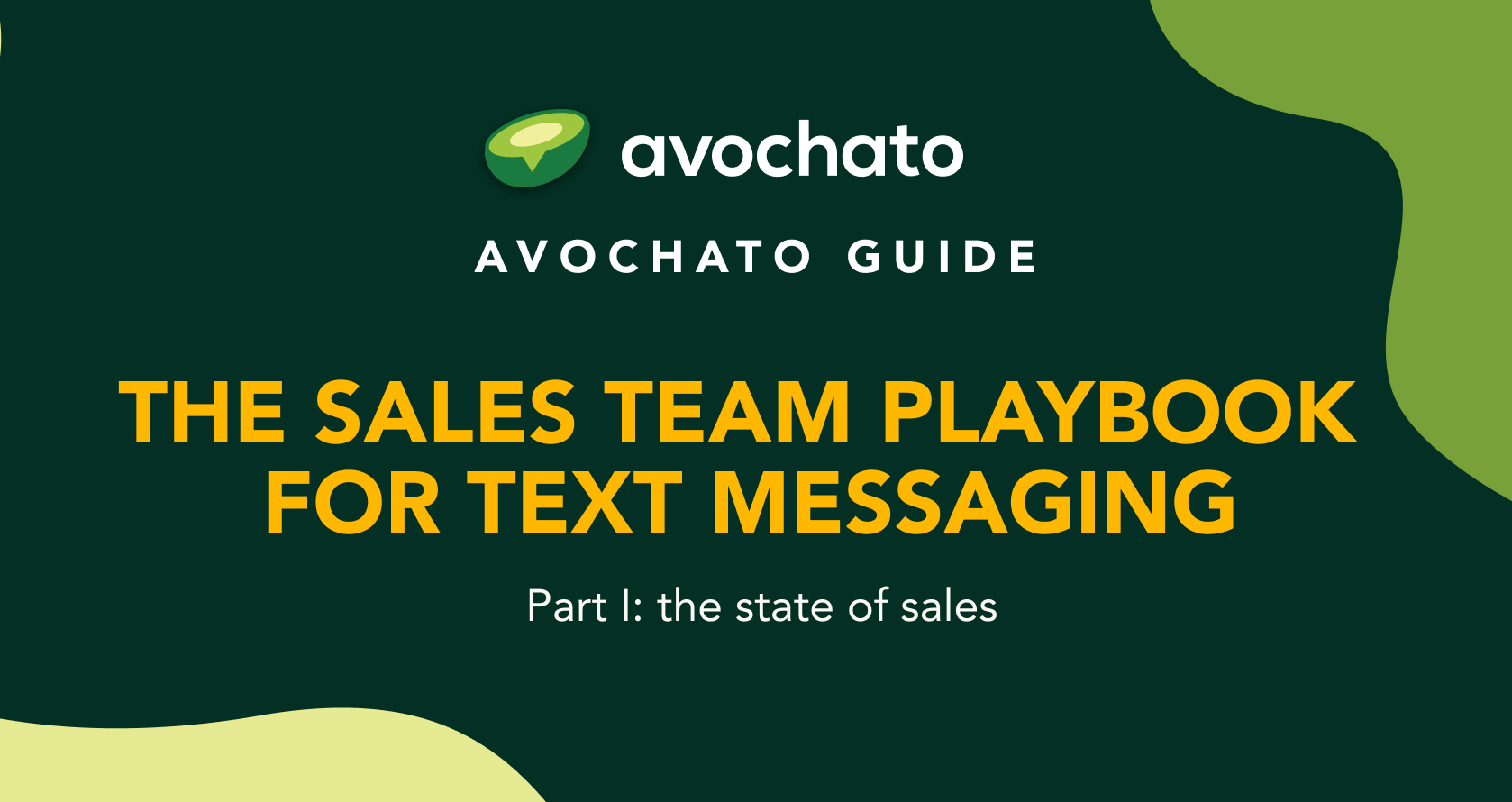 sales sms playbook I