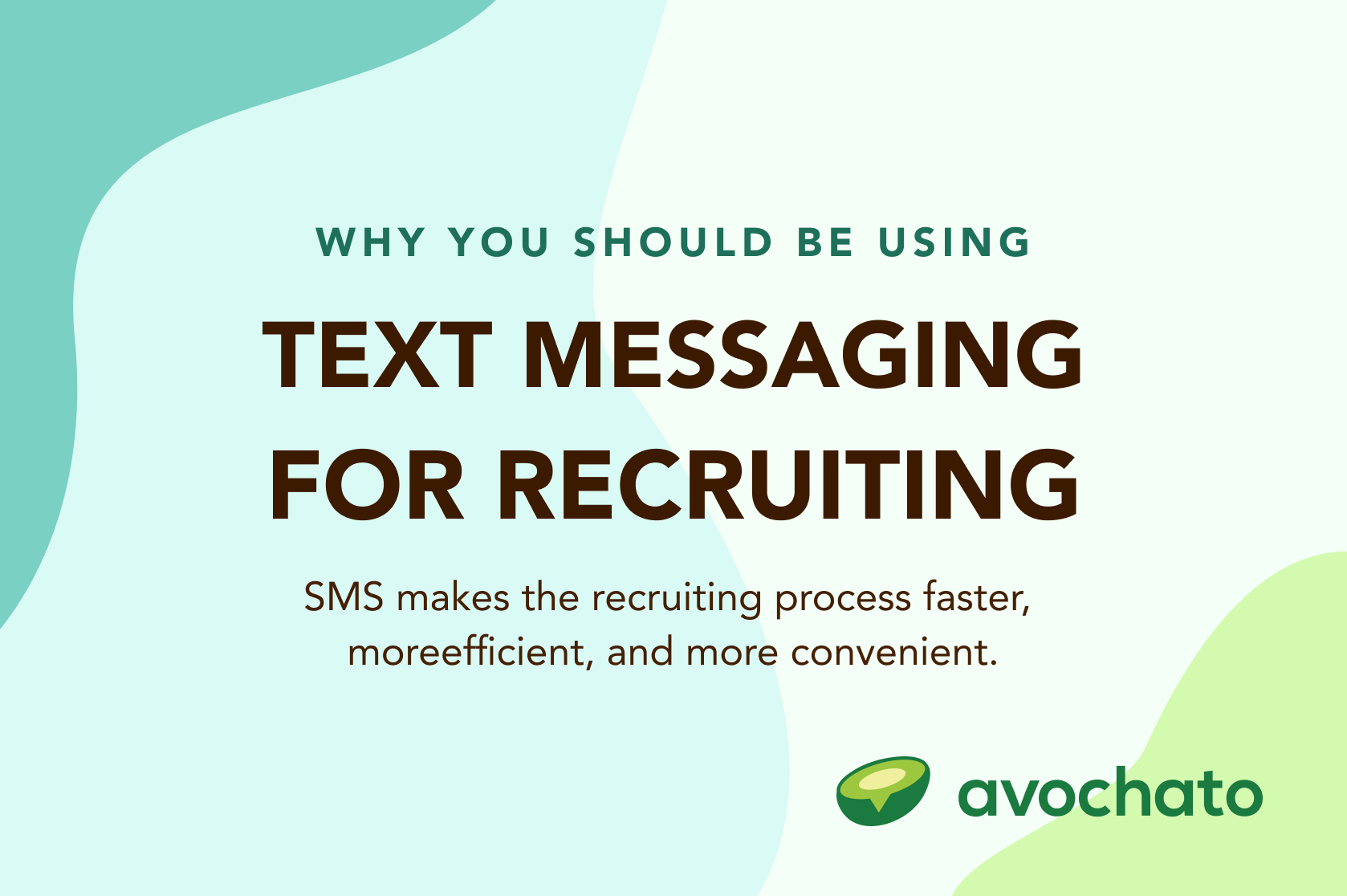 sms for recruiting